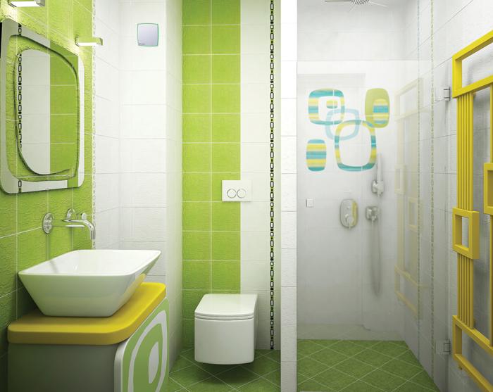 Пример установки вытяжного вентилятора для вентиляции туалета
